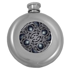 Mystic Arabesque Hip Flask (round)
