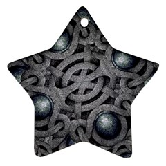 Mystic Arabesque Star Ornament (two Sides)