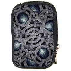 Mystic Arabesque Compact Camera Leather Case