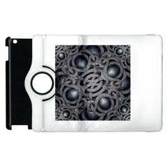 Mystic Arabesque Apple iPad 2 Flip 360 Case