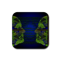 Binary Communication Drink Coaster (square)
