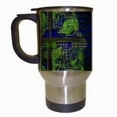 Binary Communication Travel Mug (white)