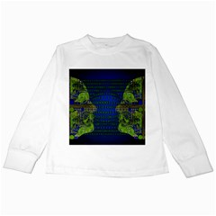Binary Communication Kids Long Sleeve T Shirt