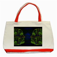 Binary Communication Classic Tote Bag (red)