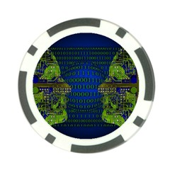 Binary Communication Poker Chip