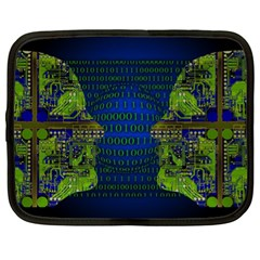 Binary Communication Netbook Sleeve (xl)
