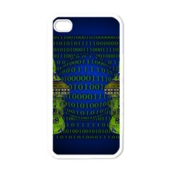 Binary Communication Apple Iphone 4 Case (white)