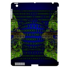 Binary Communication Apple Ipad 3/4 Hardshell Case (compatible With Smart Cover)
