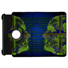 Binary Communication Kindle Fire Hd Flip 360 Case