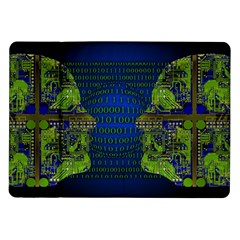 Binary Communication Samsung Galaxy Tab 10.1  P7500 Flip Case