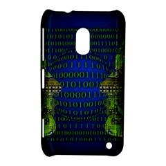 Binary Communication Nokia Lumia 620 Hardshell Case