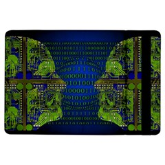 Binary Communication Apple iPad Air Flip Case