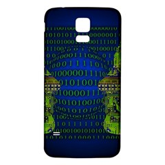 Binary Communication Samsung Galaxy S5 Back Case (White)