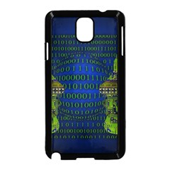 Binary Communication Samsung Galaxy Note 3 Neo Hardshell Case (Black)
