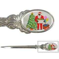 Sasquatch Father Christmas, Letter Opener