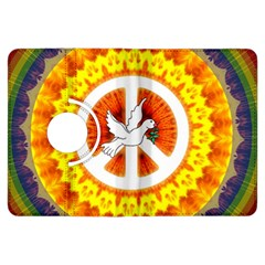 Psychedelic Peace Dove Mandala Kindle Fire HDX Flip 360 Case