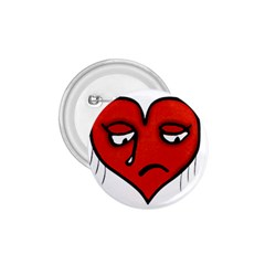 Sad Heart 1 75  Button