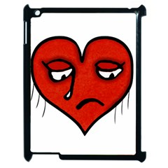 Sad Heart Apple Ipad 2 Case (black)