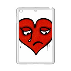 Sad Heart Apple iPad Mini 2 Case (White)
