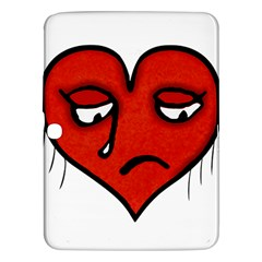 Sad Heart Samsung Galaxy Tab 3 (10 1 ) P5200 Hardshell Case