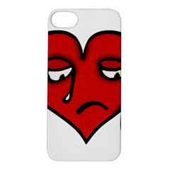 Sad Heart Apple Iphone 5s Hardshell Case