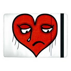 Sad Heart Samsung Galaxy Tab Pro 10.1  Flip Case