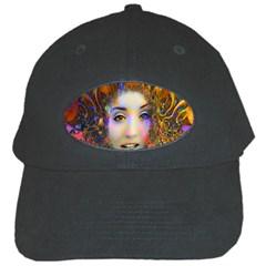 Organic Medusa Black Baseball Cap