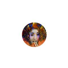 Organic Medusa 1  Mini Button Magnet