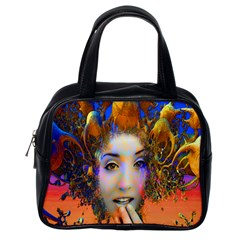 Organic Medusa Classic Handbag (one Side)