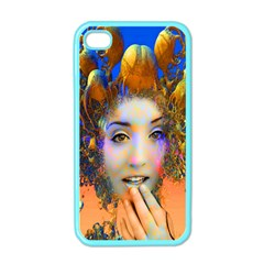 Organic Medusa Apple Iphone 4 Case (color)