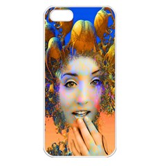 Organic Medusa Apple Iphone 5 Seamless Case (white)