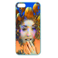 Organic Medusa Apple Seamless Iphone 5 Case (color)