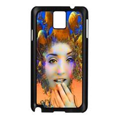 Organic Medusa Samsung Galaxy Note 3 N9005 Case (Black)