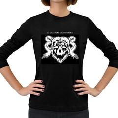 7 Gates Graffix Women s Long Sleeve T Shirt (dark Colored)