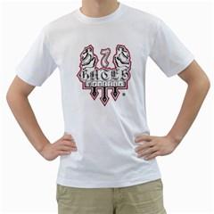 7 Gates Graffix Men s T-Shirt (White)