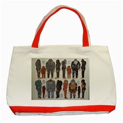 5 Tribes, Classic Tote Bag (Red)