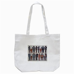 5 Tribes, Tote Bag (White)