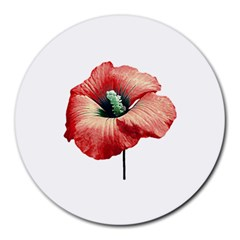 Your Flower Perfume 8  Mouse Pad (round)