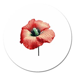 Your Flower Perfume Magnet 5  (round)