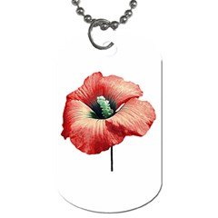 Your Flower Perfume Dog Tag (two Sided)