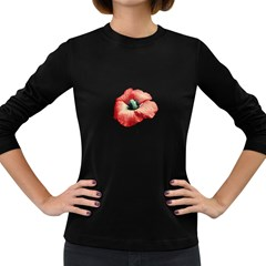 Your Flower Perfume Women s Long Sleeve T-shirt (Dark Colored)