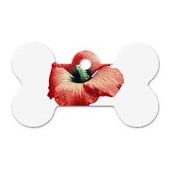 Your Flower Perfume Dog Tag Bone (Two Sided)