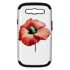 Your Flower Perfume Samsung Galaxy S Iii Hardshell Case (pc+silicone)