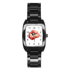 Your Flower Perfume Stainless Steel Barrel Watch