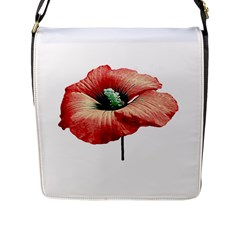Your Flower Perfume Flap Closure Messenger Bag (Large)