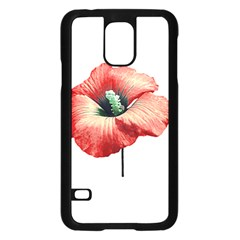 Your Flower Perfume Samsung Galaxy S5 Case (Black)