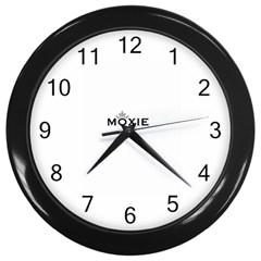 Moxie Logo Wall Clock (black)