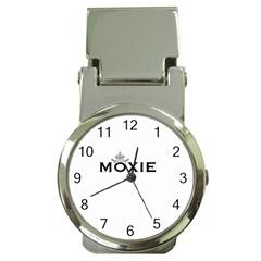 Moxie Logo Money Clip With Watch