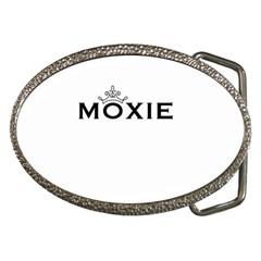 Moxie Logo Belt Buckle (Oval)