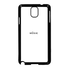 Moxie Logo Samsung Galaxy Note 3 Neo Hardshell Case (black)